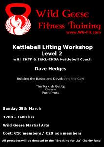 Last Night's Kettlebell Class, Level 2 Kettlebell Workshop and a New eBook