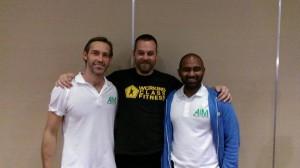 Gary Ward (left) and Chris Sritharan, the brains behind AiM