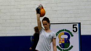 Introducing Maria, Kettlebell lifting European & World Champion