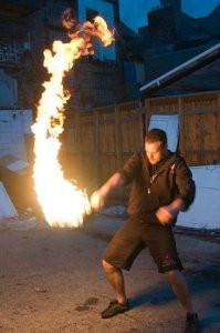 The Kettlebell swing - fire optional
