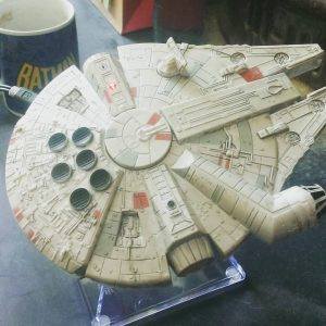 A Millennium Falcon Bluetooth Speaker.........Oh YES!