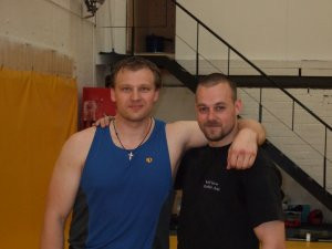 Vasily Ginko & Dave Hedges Dublin 2008