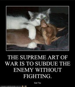 The Art of Fighting Without Fighting