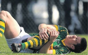 David Moran, from Kerry GAA blew out his cruciate last year