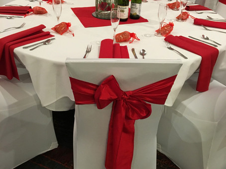Do chair covers make a difference? Holiday Inn Cherry Creek - Denver