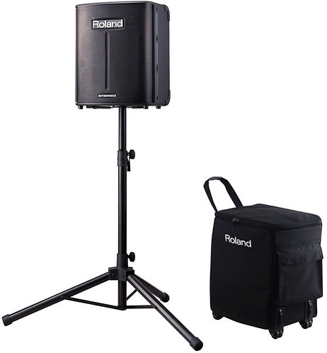 Battery Powered Roland Sound System