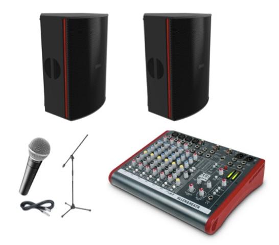Premium Medium Sound System   EAW   Rockstar Rentals CO