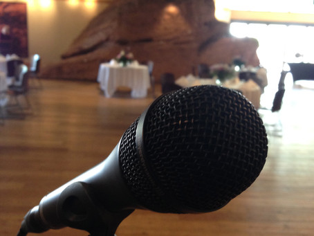 Wedding Reception in The Rock Room - Red Rocks in Morrison, CO