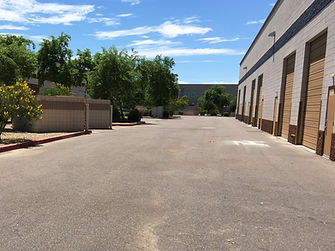 phoenix parking lot sweeping