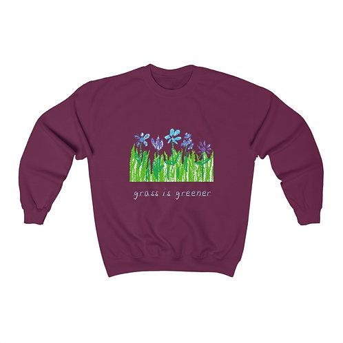 Grass is Greener Crewneck Sweatshirt