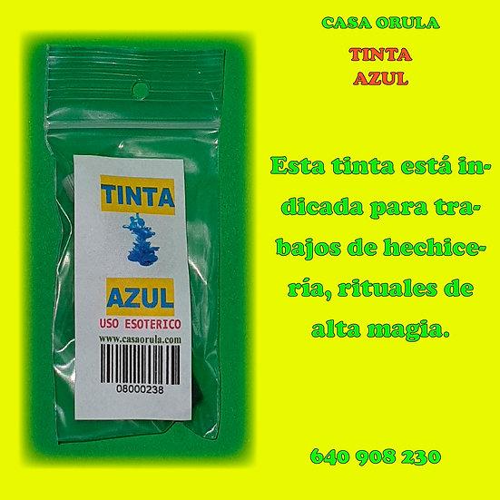 TINTA AZUL RITUALIZADA