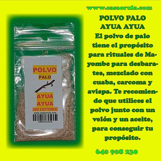 POLVO DE PALO AYUA AYUA