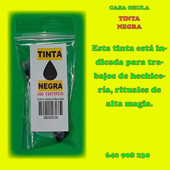 TINTA NEGRA RITUALIZADA