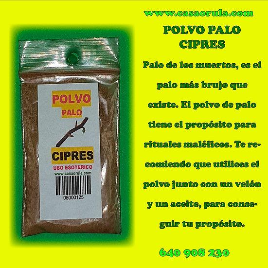 POLVO DE PALO CIPRES