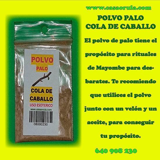 POLVO DE PALO COLA DE CABALLO