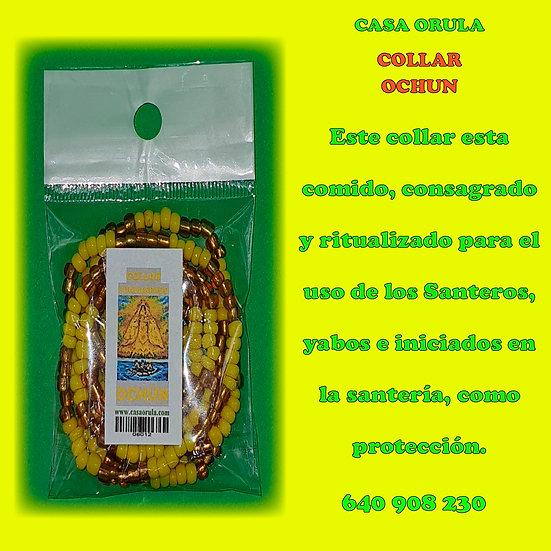 COLLAR CONSAGRADO DE OCHUN