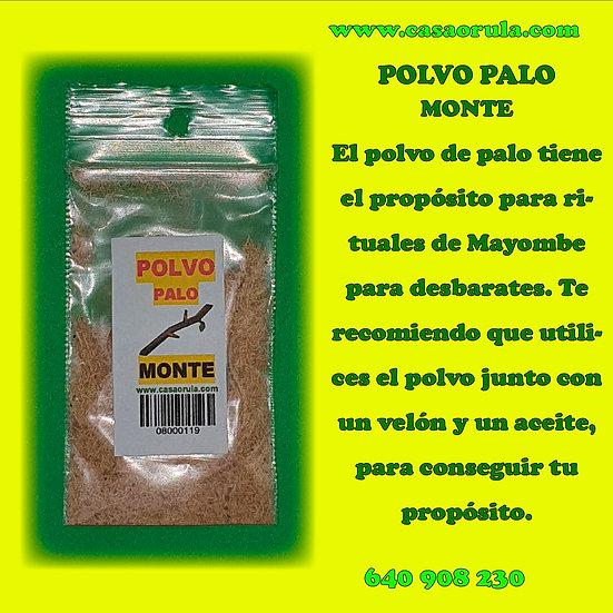 POLVO DE PALO MONTE