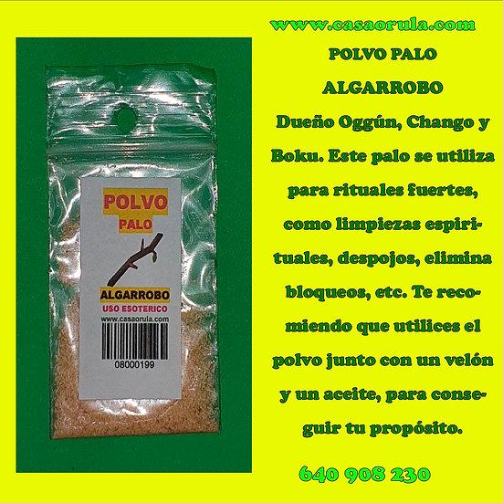 POLVO PALO ALGARROBO