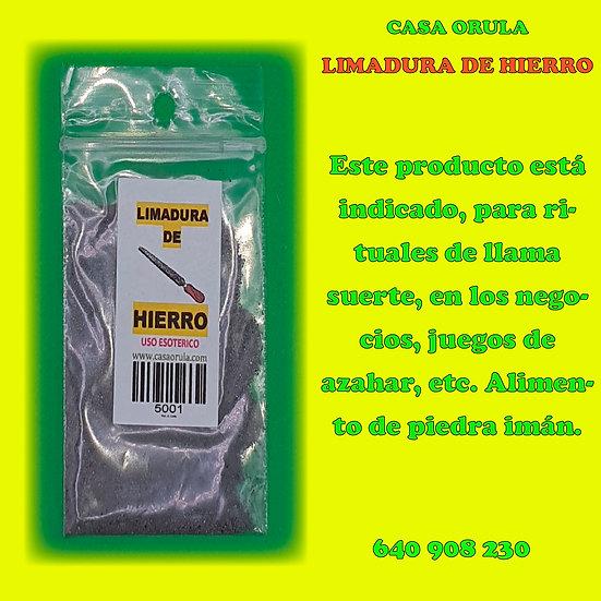 LIMADURA DE HIERRO RITUALIZADA