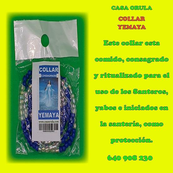COLLAR CONSAGRADO DE YEMAYA