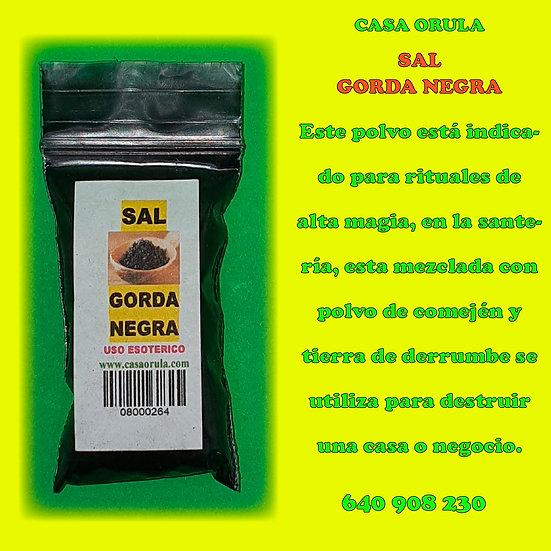 SAL GORDA NEGRA