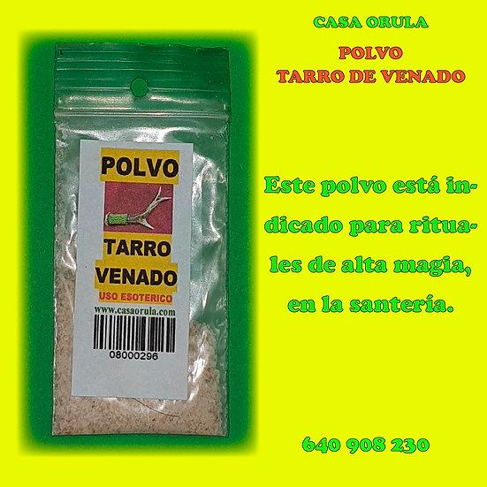 POLVOS TARRO DE VENADO