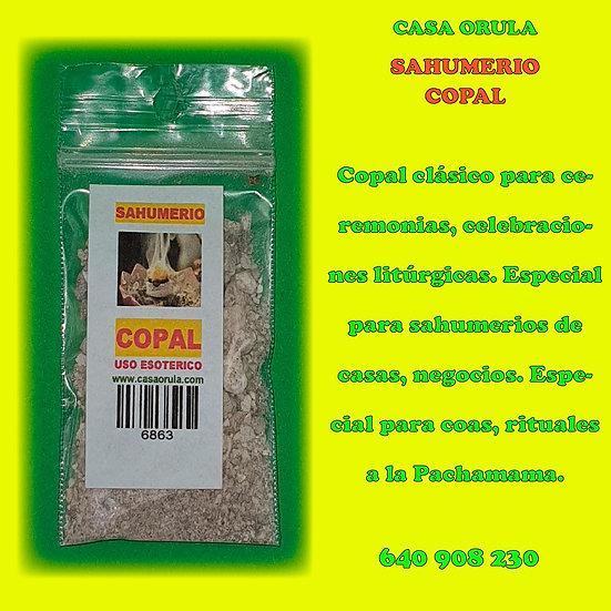 SAHUMERIO DE COPAL