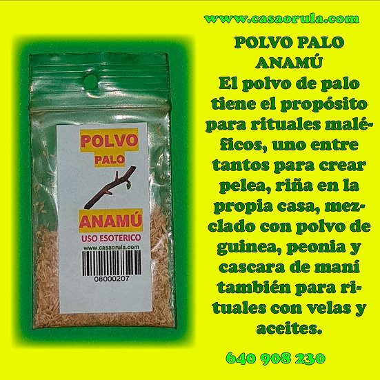 POLVO DE PALO ANAMU