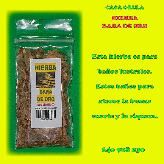 HIERBA BARA DE ORO