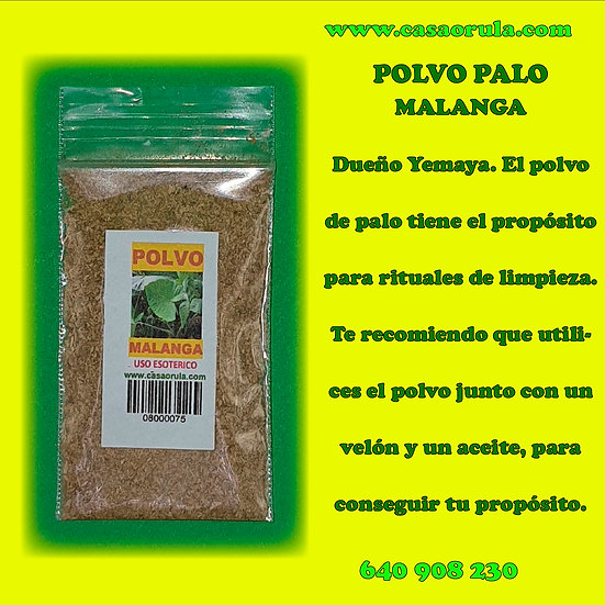 POLVO DE PALO MALANGA