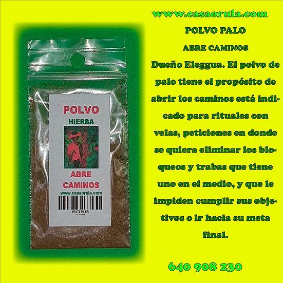POLVO DE PALO ABRE CAMINOS