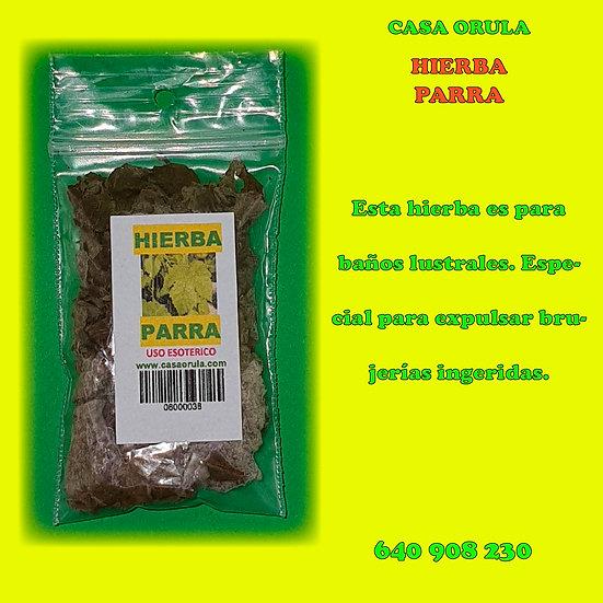 HIERBA PARRA