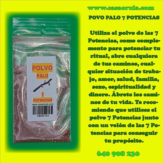 POLVO DE PALO 7 POTENCIAS