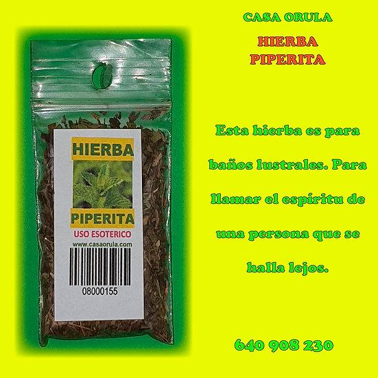 HIERBA PIPERITA