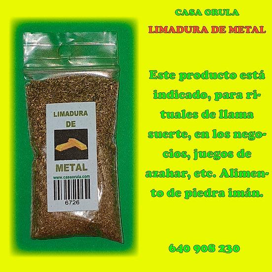 LIMADURA DE METAL RITUALIZADA