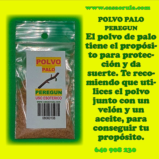 POLVO DE PALO PEREGUN