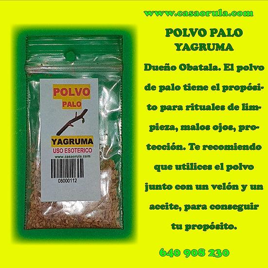 POLVO DE PALO YAGRUMA