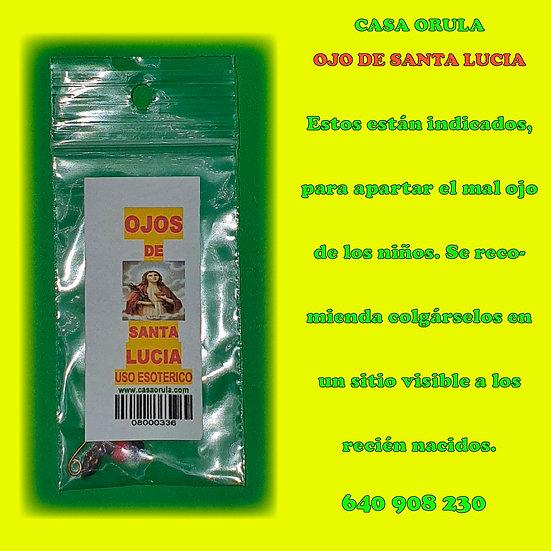 OJOS DE SANTA LUCIA