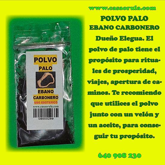 POLVO DE PALO EBANO CARBONERO