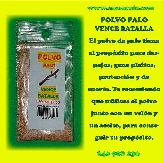 POLVO DE PALO VENCE BATALLAS