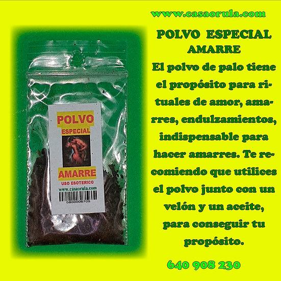 POLVO ESPECIAL AMARRE