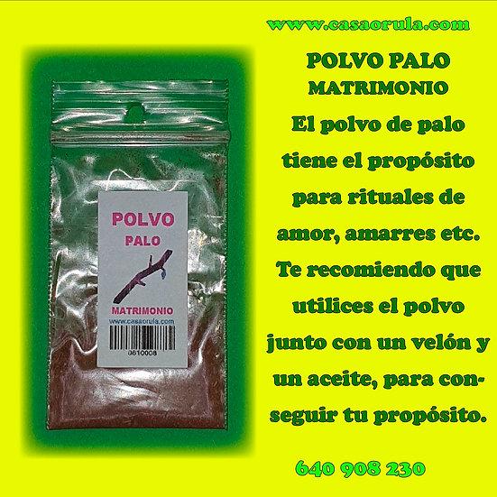 POLVO DE PALO MATRIMONIO