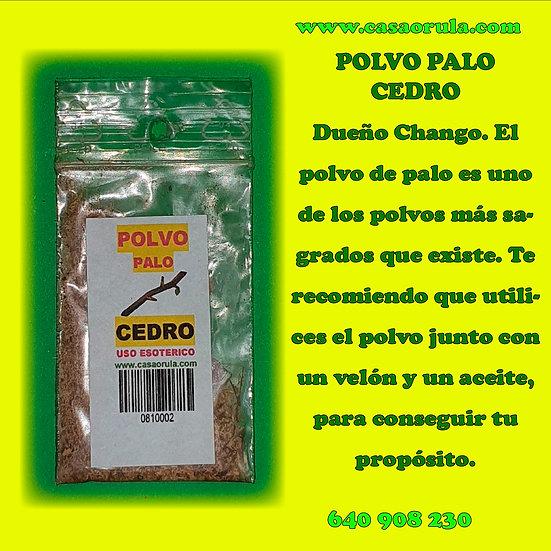 POLVO DE PALO CEDRO