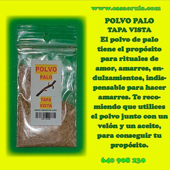 POLVO DE PALO TAPA VISTA