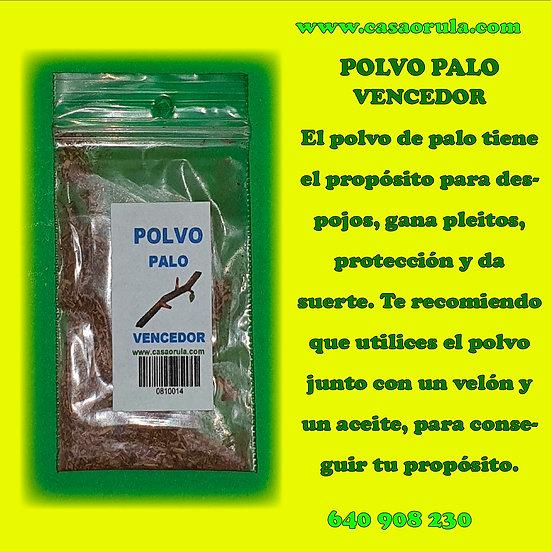 POLVO DE PALO VENCEDOR