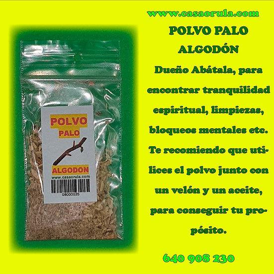 POLVO PALO ALGODON
