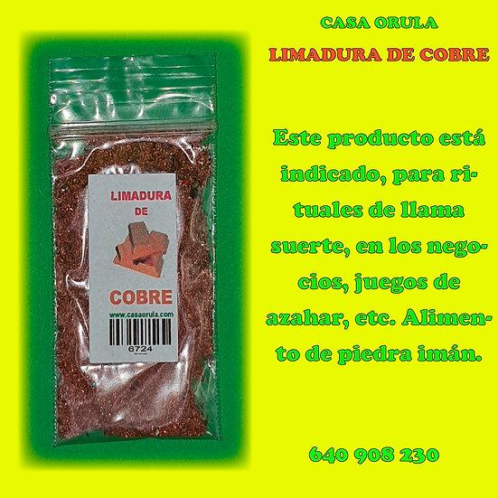 LIMADURA DE COBRE RITUALIZADA