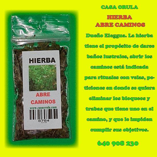 HIERBA ABRE CAMINOS