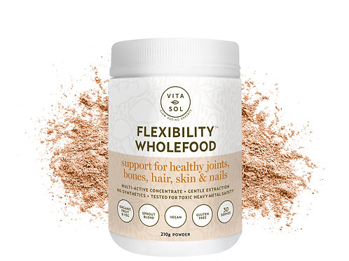 Vitasol Flexibility Wholefood 210g