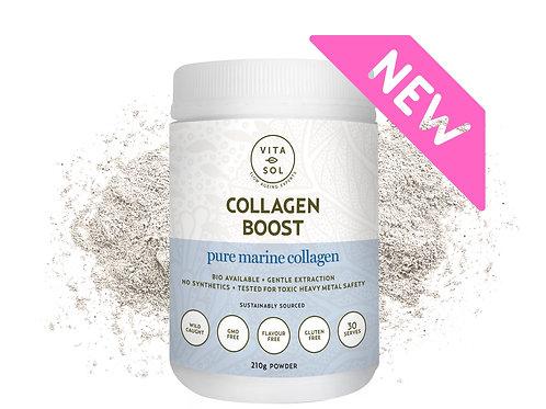 Vitasol Collagen Boost- Pure Marine Collagen 210g